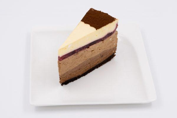 Tripla Csokis Tortaszelet